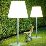 Large Outdoor Floor Lamp