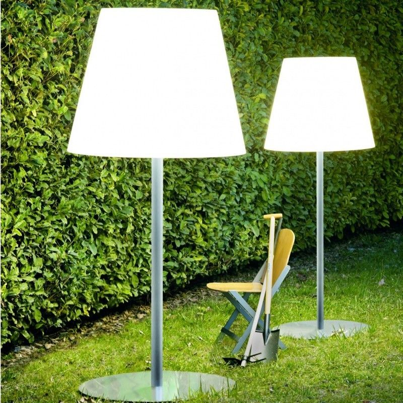 Picture of: Large Outdoor Floor Lamp
