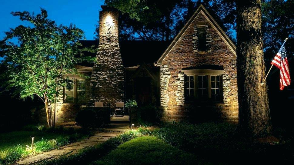 Picture of: Led Outdoor Landscape Lighting around Pool