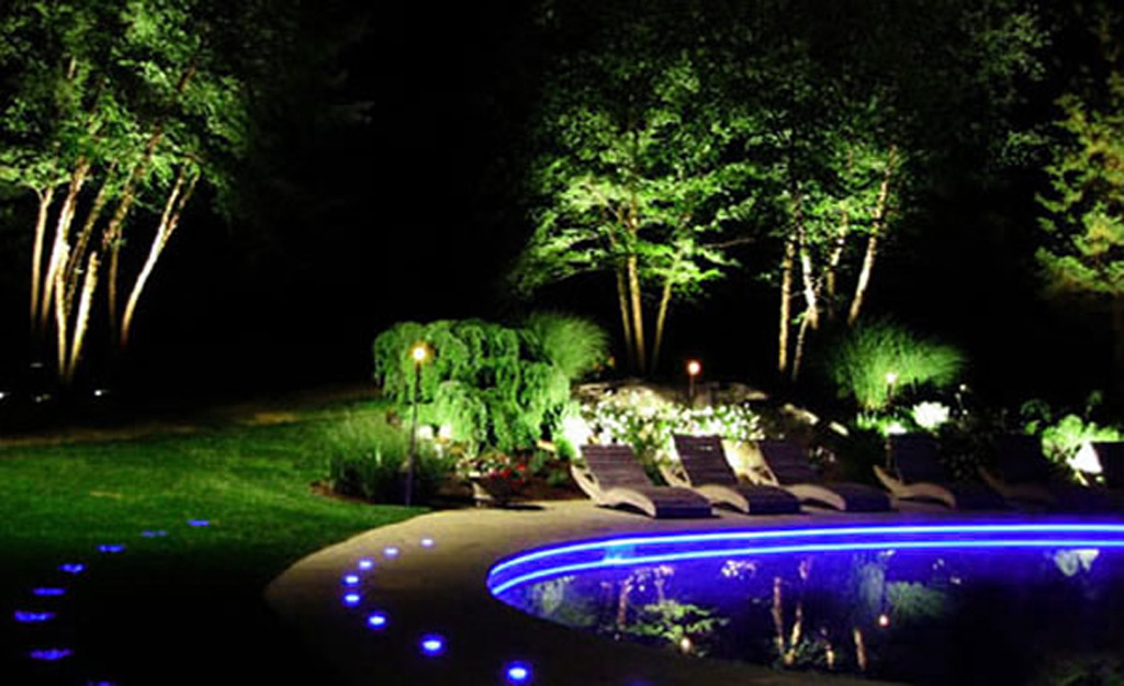 Picture of: Led Outdoor Light Battery