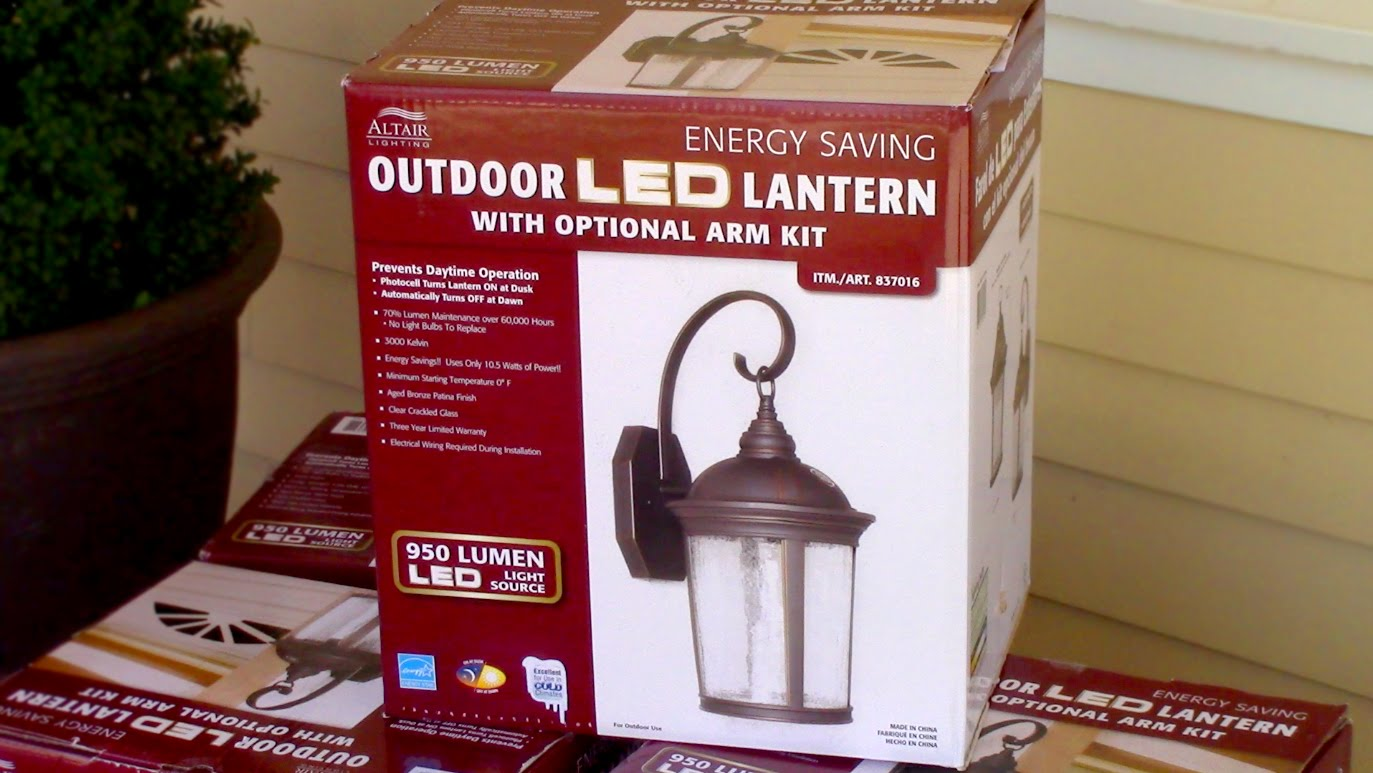 Led Outdoor Light with Motion Sensor