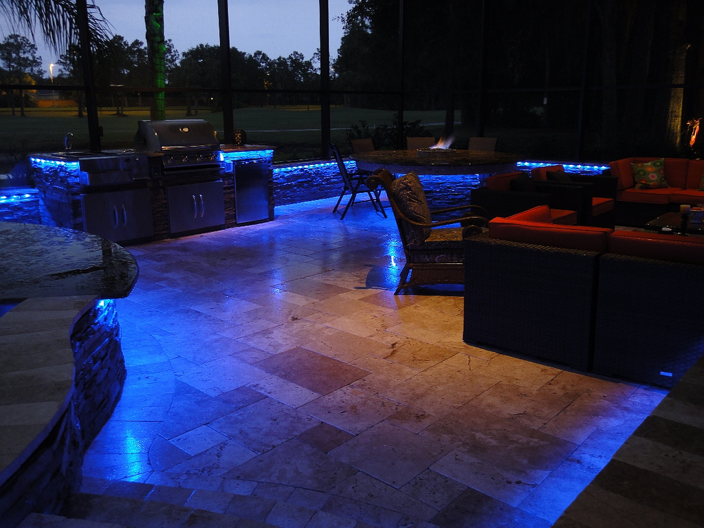 Picture of: Led Outdoor Lights Pool