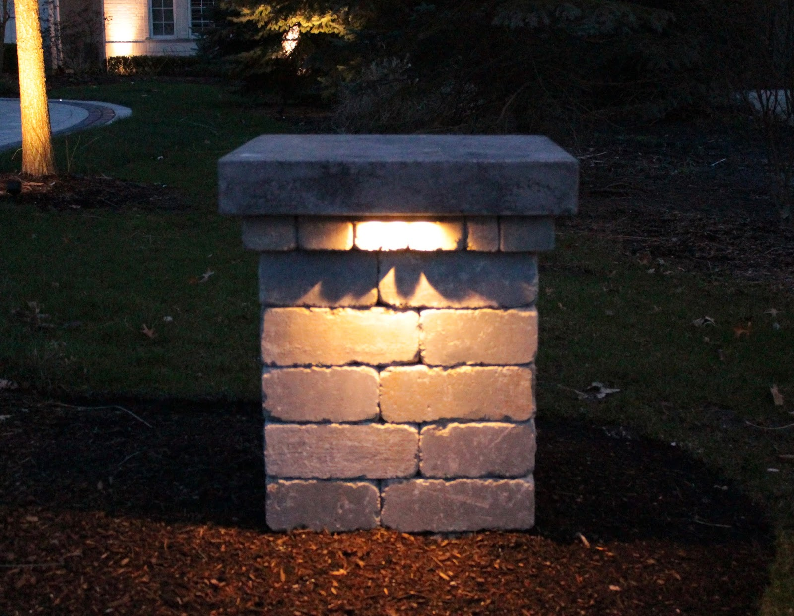 Picture of: Led Outdoor Lights Post