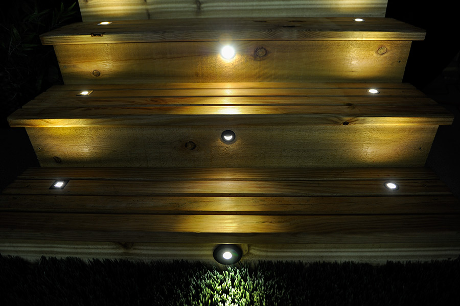 Picture of: Led Outdoor Step Lights Install