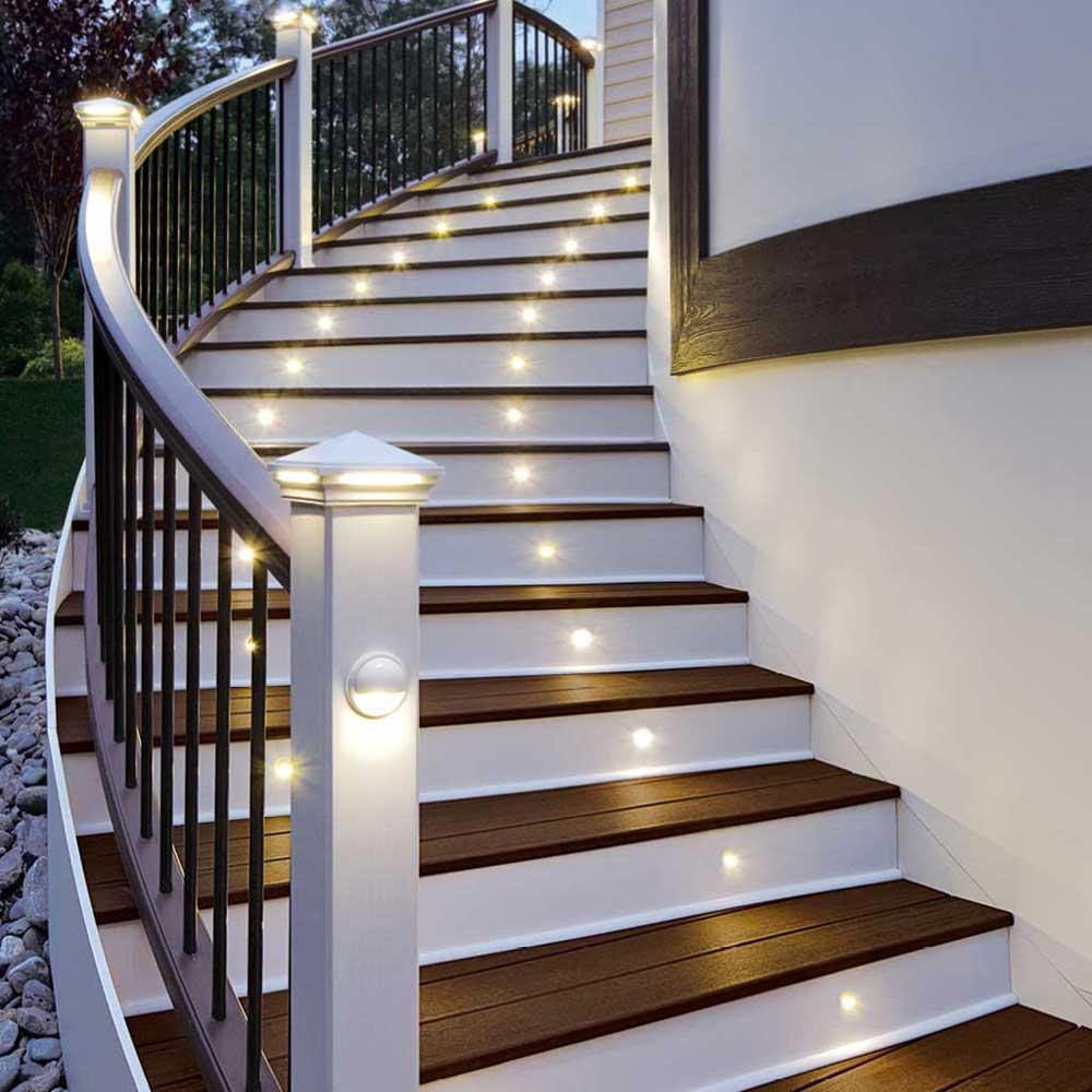 Picture of: Led Outdoor Step Lights Modern