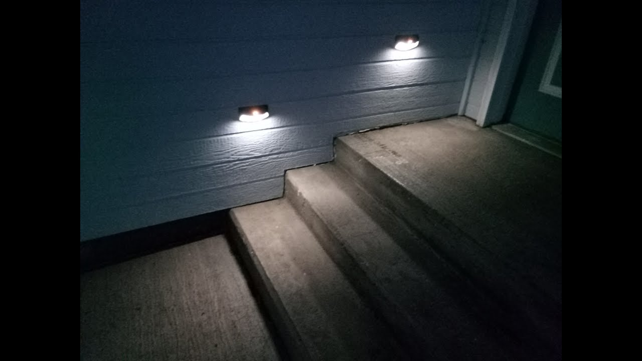 Picture of: Led Outdoor Step Lights Style