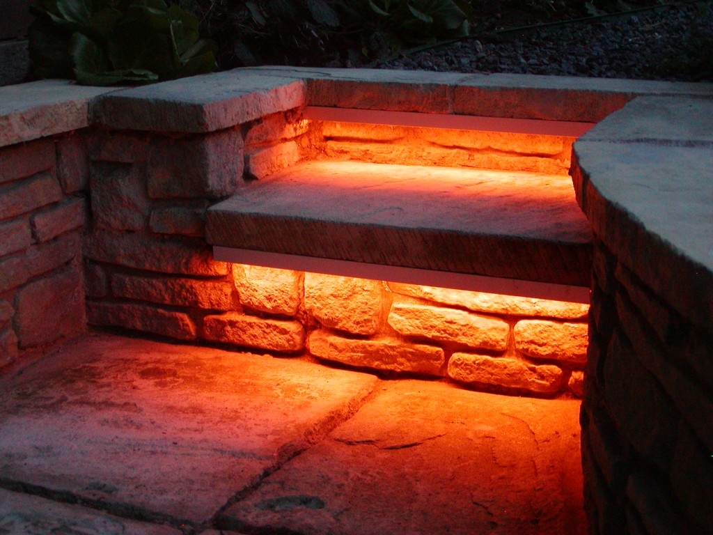 Picture of: Led Step Lights Bronze