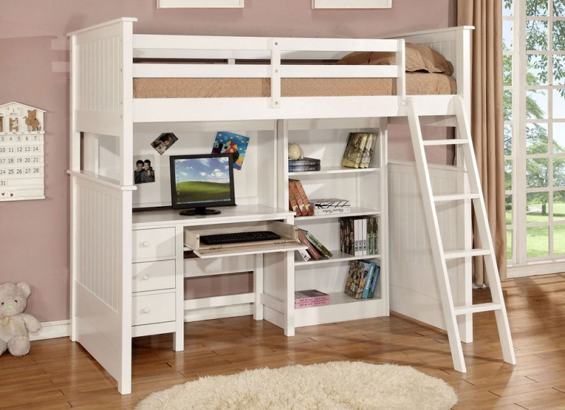 Loft Beds With Storage And Desk