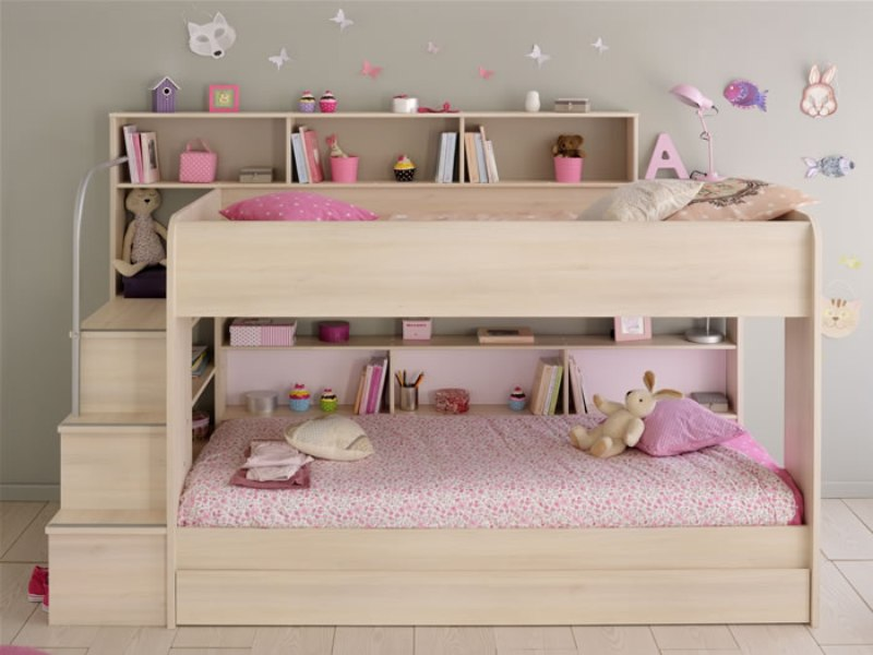 Loft Beds With Storage Shelves