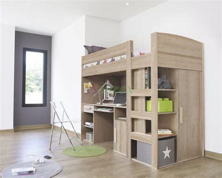 Loft Beds With Storage Underneath