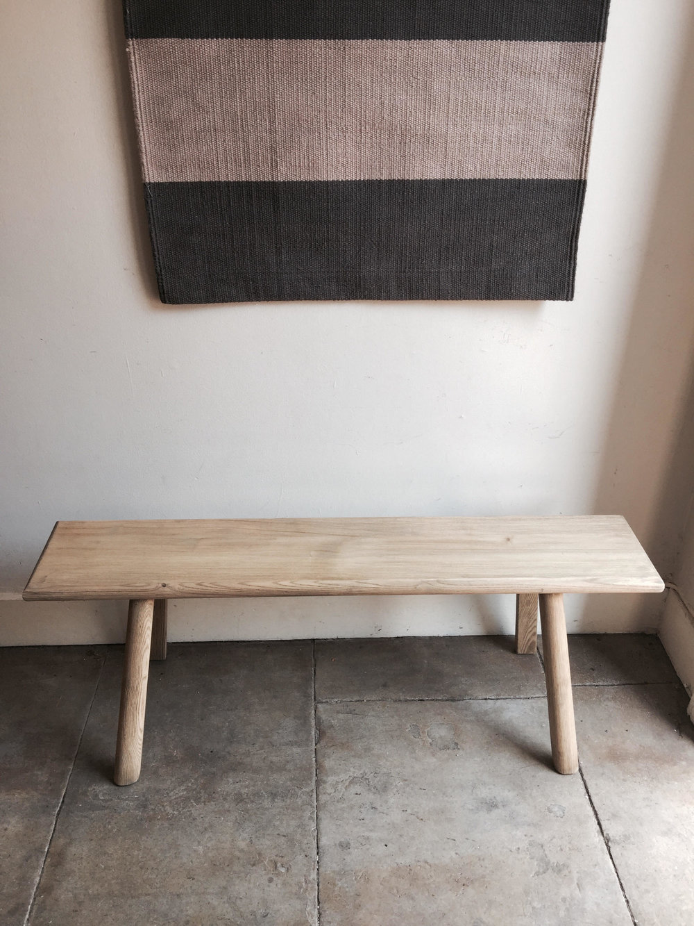 Picture of: Long Wooden Bench Corner