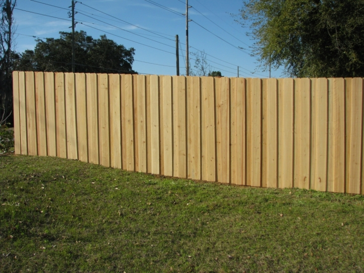 Picture of: Low Board On Board Fence Panels