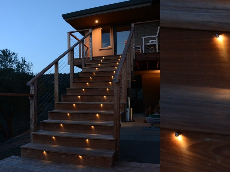 Picture of: Low Voltage Led Outdoor Step Lights