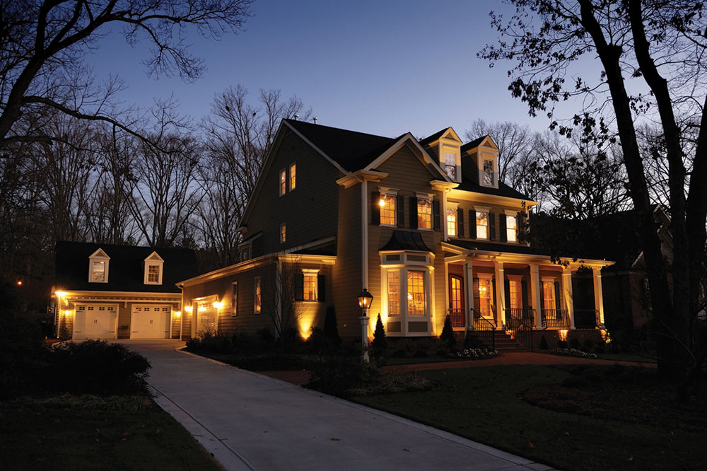 Picture of: Low Voltage Outdoor Lighting House