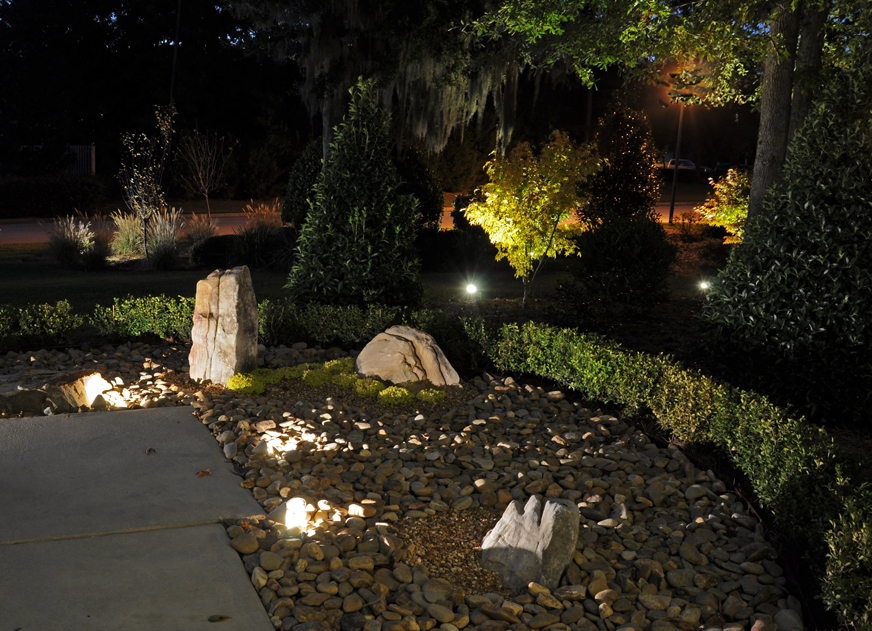 Picture of: Low Voltage Outdoor Lighting Idea