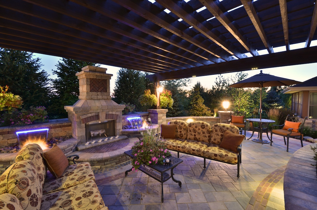 Picture of: Low Voltage Outdoor Lighting Patio