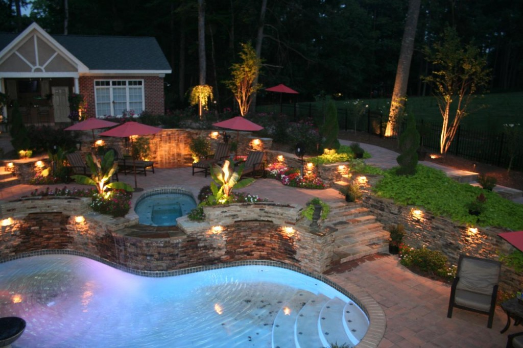 Picture of: Low Voltage Outdoor Lighting Pool