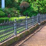 Low Wrought Iron Fence Panels