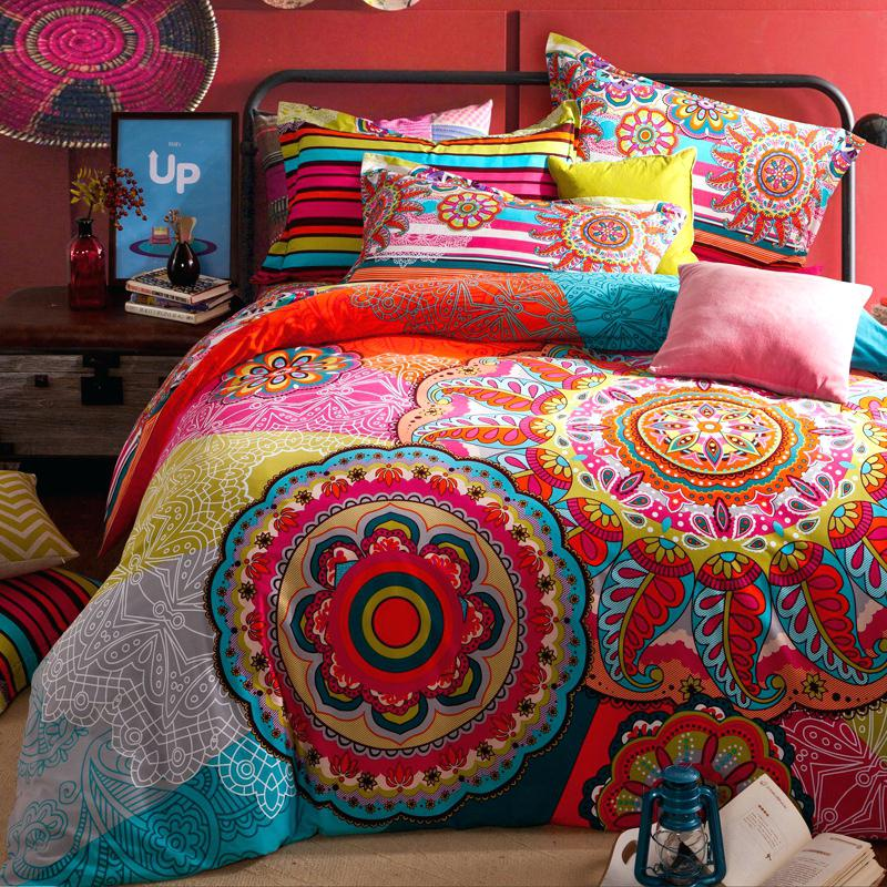 Image of: Luxury Hippie Bedding Sets
