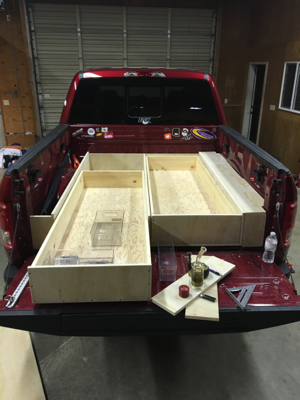Make Truck Bed Storage Drawers