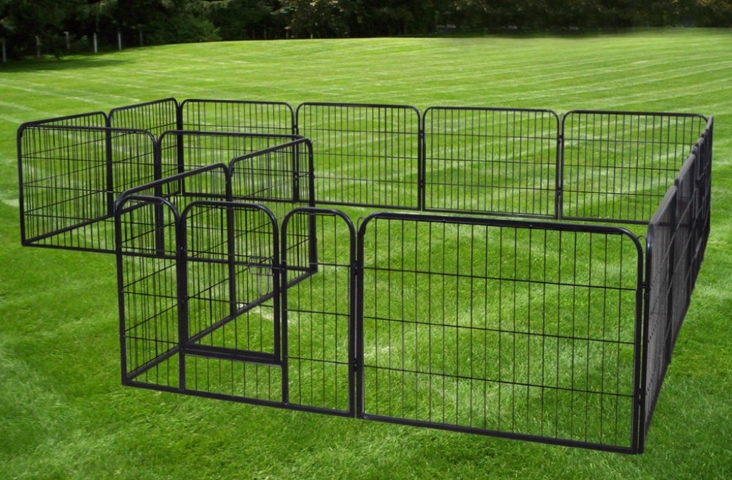 Picture of: Metal Dog Fence Model