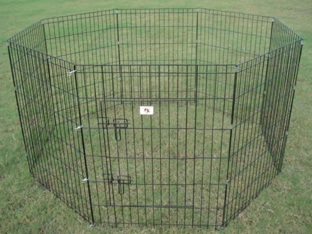 Picture of: Metal Dog Fence for Garden