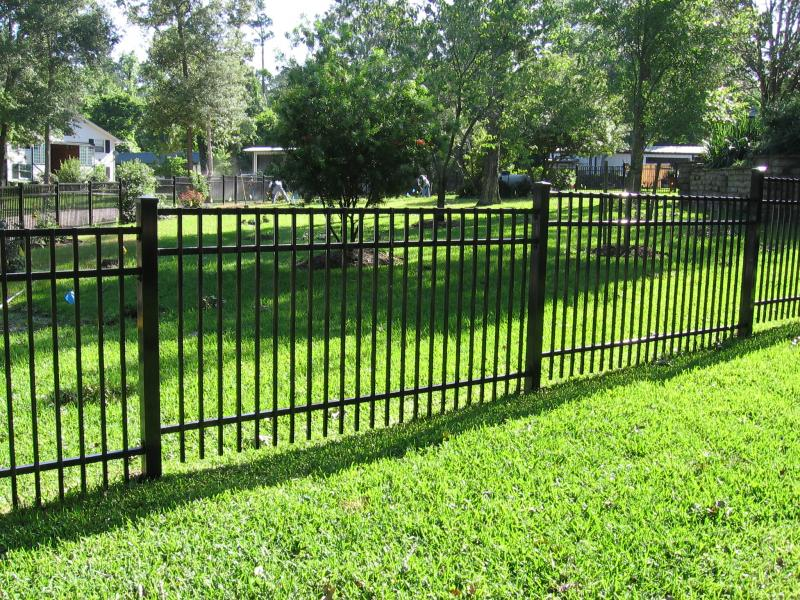 Image of: Metal Fence Color