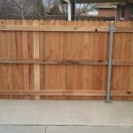 Metal Fence Posts for Wood Fence Panel