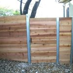 Metal Fence Posts for Wood Fence Small