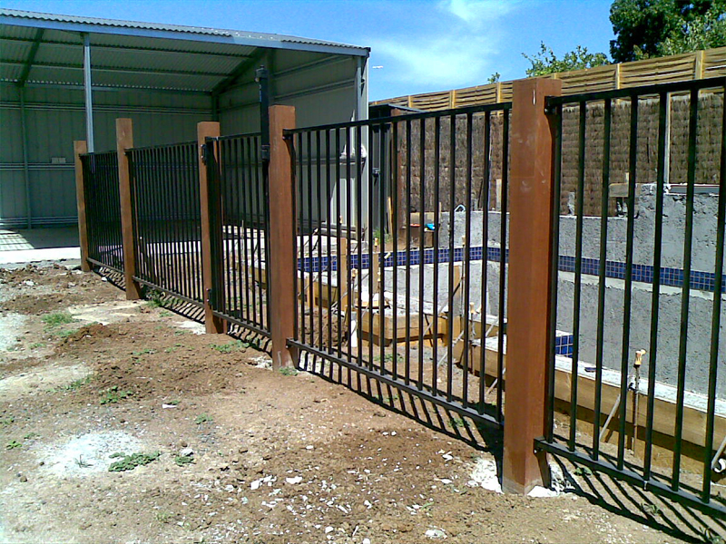Metal Pool Fence Design