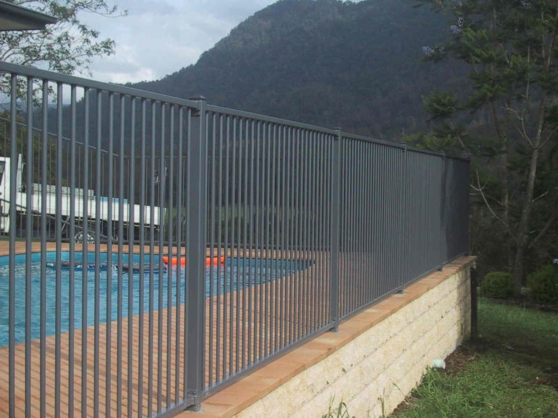 Metal Pool Fence Ideas