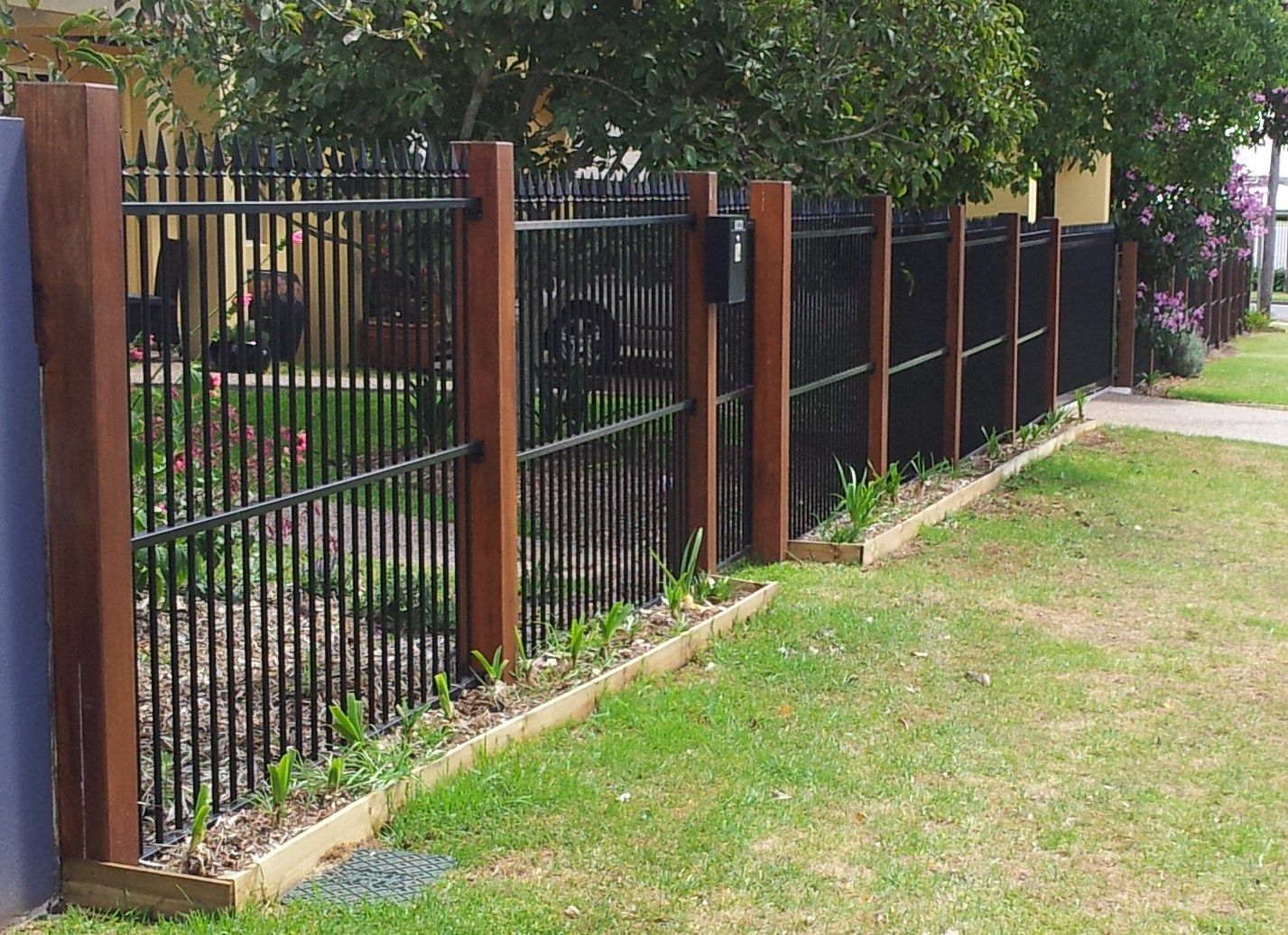 Metal Pool Fence Style