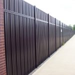 Metal Privacy Fence Panels Model