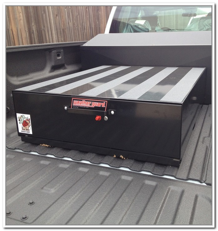 Image of: Metal Truck Bed Storage Containers