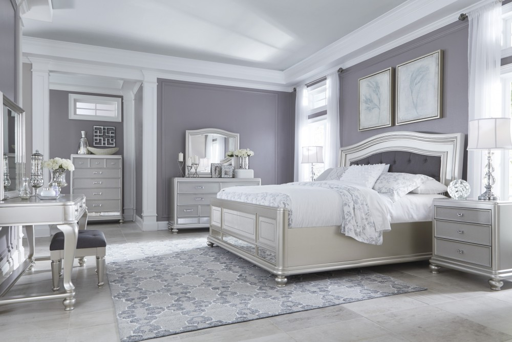 Image of: Mirror Bed Set Home