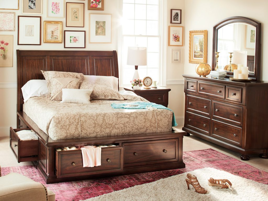 Image of: Mirror City Furniture Bedroom Sets