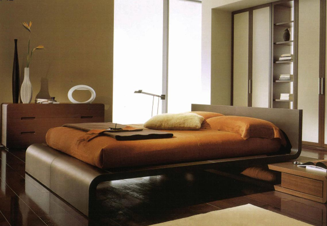 Image of: Modern Bedroom Furniture Sets Solid