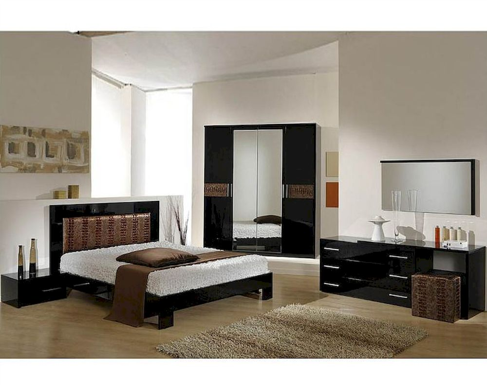 Image of: Modern Bedroom Furniture Sets Style