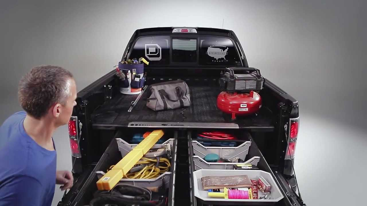 Modern Decked Truck Bed Storage