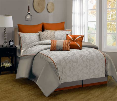 Modern Grey Comforter Sets King