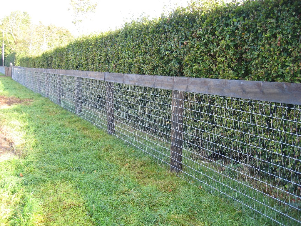 Replace A Wire Mesh Fence Panels