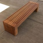 Modern Outdoor Wooden Benches