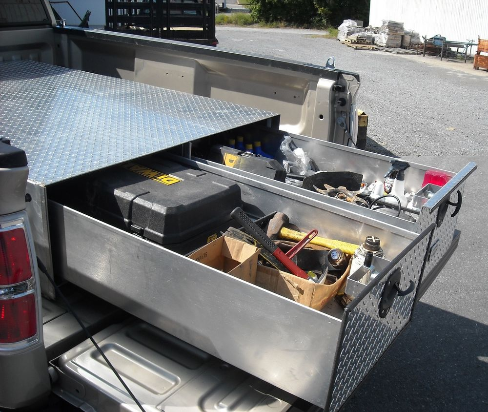 Modern Truck Bed Storage Containers