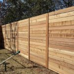 Modern Wood Fence Easy