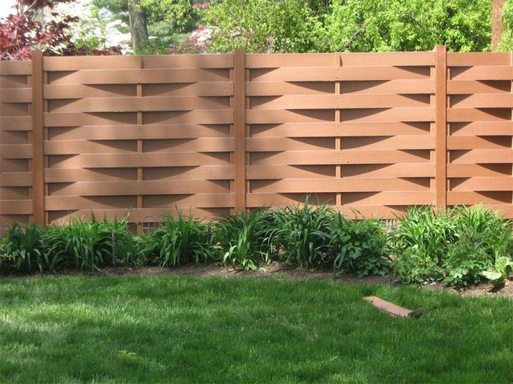 Picture of: Modern Wood Fence Gate