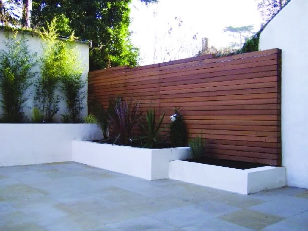 Picture of: Modern Wood Fence Panels