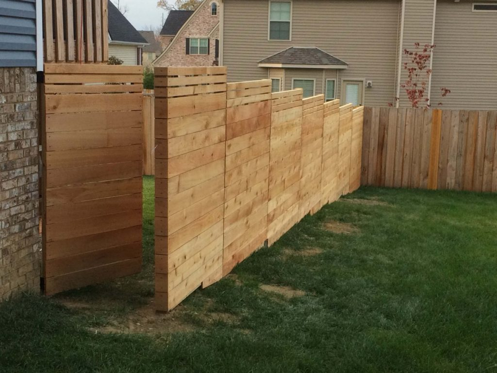 Picture of: Modern Wood Fence Style