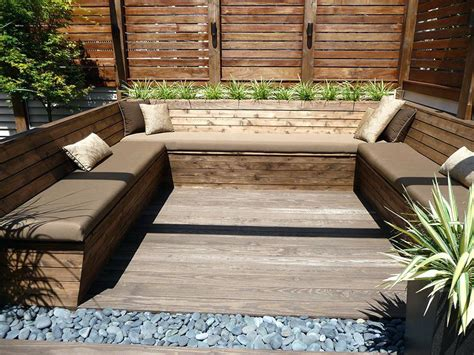 Picture of: Modern Wooden Bench Seat