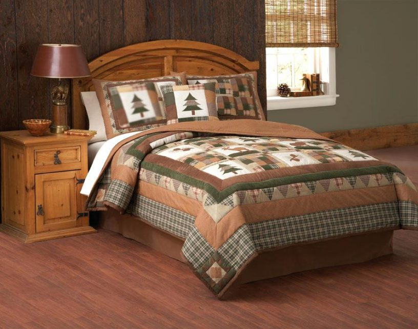 Image of: Moose Comforter Sets Bedding