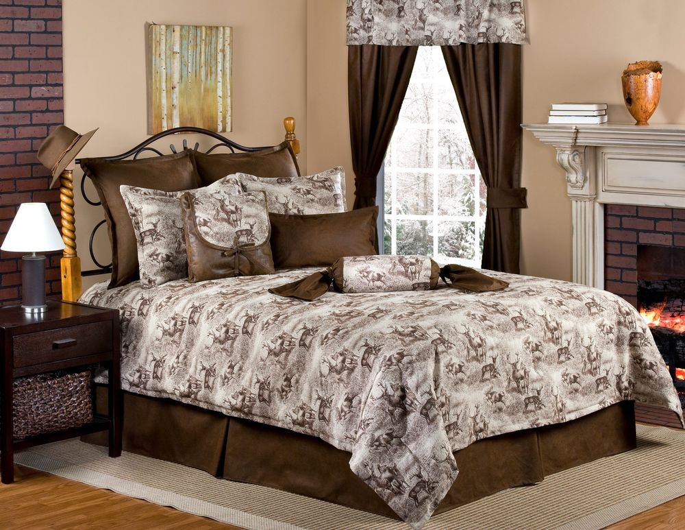 Image of: Moose Comforter Sets Popular